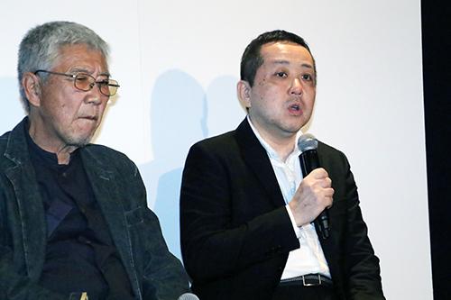 赤城プロデューサー『凪待ち』完成披露記者会見