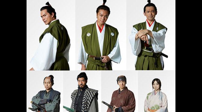 EXILE TAKAHIRO・市原隼人・岡田義徳『3人の信長』公開決定・メインキャスト情報解禁