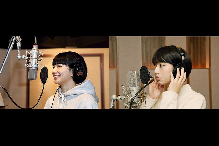 「さよならくちびる」小松菜奈&門脇麦のレコーディング
