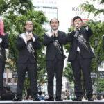 吉本坂46&一般メン・イン・ブラックエージェント「エイリアンをすべてクリーンアップする!」イベント