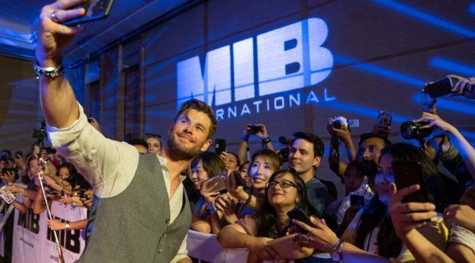 クリス・ヘムズワース『メン・イン・ブラック:インターナショナル』 カーペットイベント in バリ