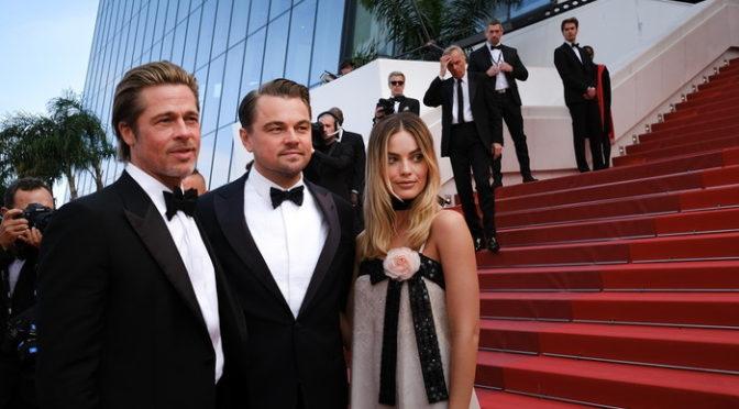 ディカプリオ、ブラピそろい踏み 『ワンス・アポン・ア・タイム・イン・ハリウッド』inカンヌ国際映画祭