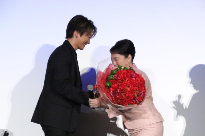 『僕に、会いたかった』公開記念舞台挨拶_TAKAHIROx松坂慶子