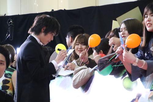 細田佳央太『町田くんの世界』ジャパンプレミア