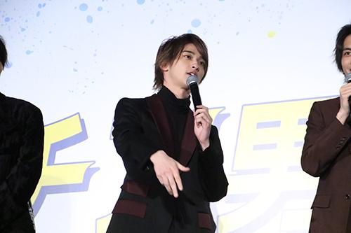 映画『チア男子!!』横浜流星