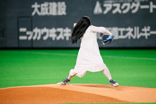 貞子_始球式