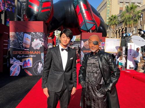 伊藤健太郎、竹中直人『スパイダーマン:FFH』ワールドプレミア