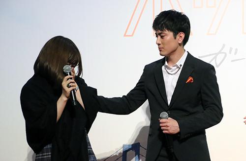 間宮祥太朗・山戸結希監督『ホットギミック』新宿バルト9特設ステージ
