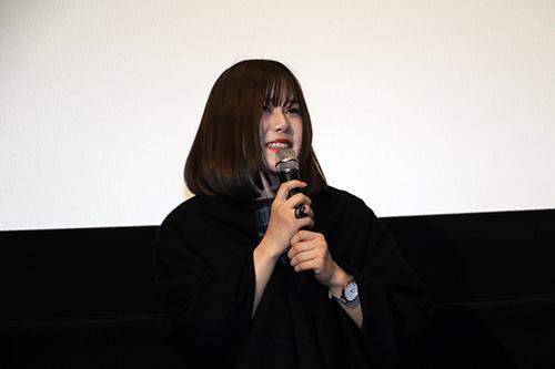 山戸結希監督 『ホットギミック』完成披露舞台挨拶