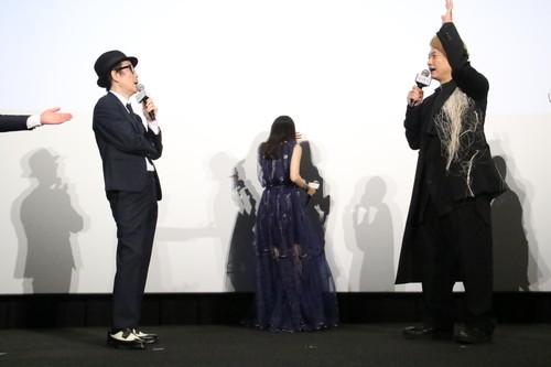 香取慎吾、恒松祐里、リリー・フランキー『凪待ち』初日舞台挨拶