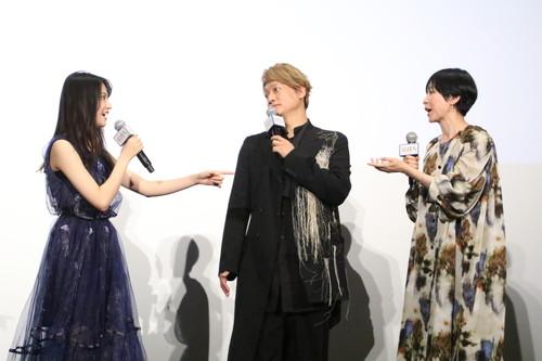 香取慎吾、恒松祐里、西田尚美『凪待ち』初日舞台挨拶