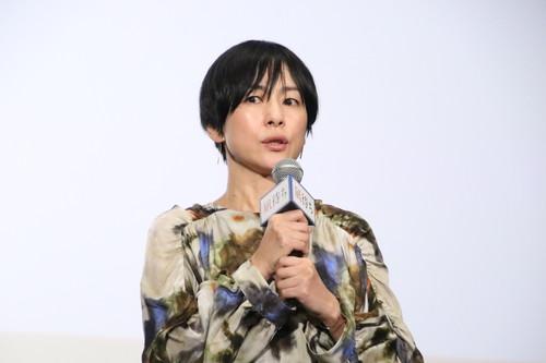 西田尚美『凪待ち』初日舞台挨拶