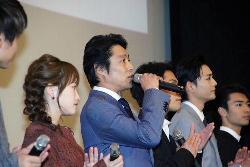 映画『泣くな赤鬼』公開御礼舞台挨拶