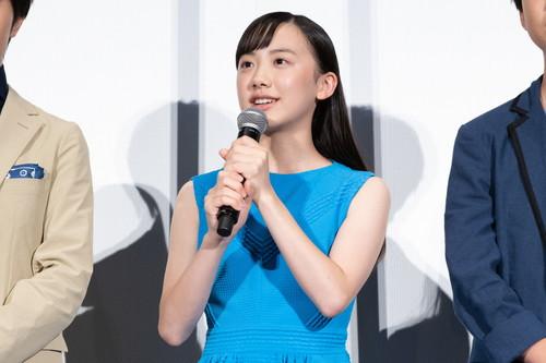 芦田愛菜『海獣の子供』 初日舞台挨拶
