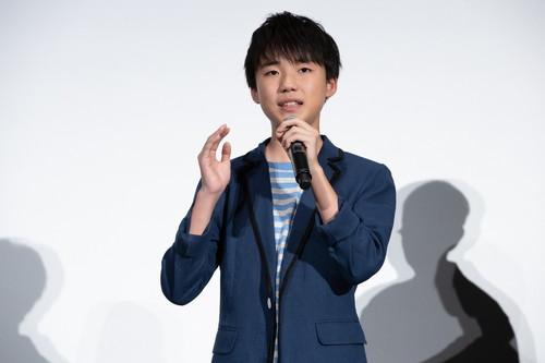 石橋陽彩『海獣の子供』 初日舞台挨拶