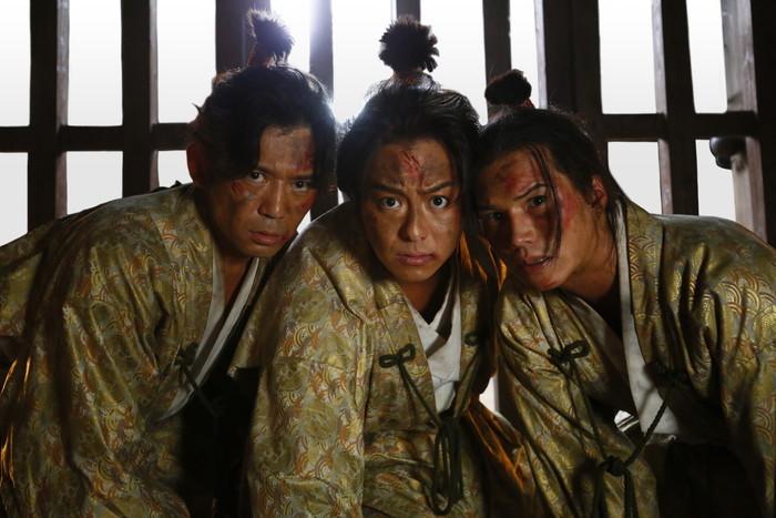TAKAHIRO初ちょんまげ姿に魅力満載!『3人の信長』場面写真解禁!