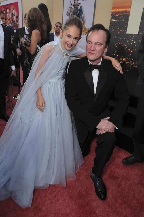 Julia Butters and Quentin Tarantino, Director/Writer/Producer,