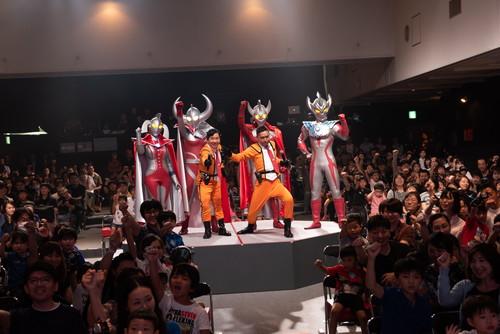 「ウルトラマンフェスティバル2019」開幕ショー