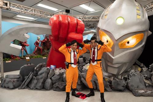 「ウルトラマンフェスティバル2019」開幕 爆笑問題