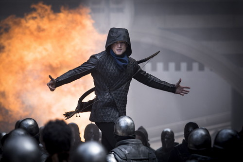Taron Egerton stars as 'Robin Hood' in ROBIN HOOD. Photo by: Larry Horricks.