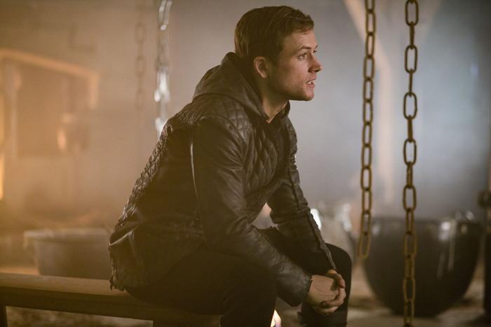 Taron Egerton stars as 'Robin Hood' in ROBIN HOOD. Photo by: Larry Horricks.