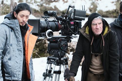 『ある船頭の話』オダギリ監督&クリストファー・ドイル(冬)