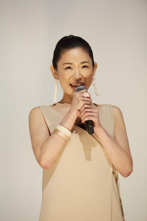 『アンダー・ユア・ベッド』初日舞台挨拶西川可奈子
