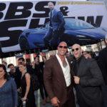 ドウェイン x ジェイソン・ステイサム『ワイルド・スピード/スーパーコンボ』グローバル・プレミアin LA