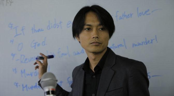「カメ止め」イケメンP役 大沢真一郎が 『イソップの思うツボ』で講師役&撮影助手の二刀流!