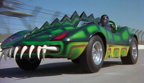 『映画秘宝』『デス・レース2000年』(75年)のモンスター号