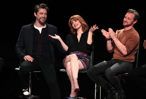 Andy Muschietti, Director, Jessica Chastain, James McAvoy