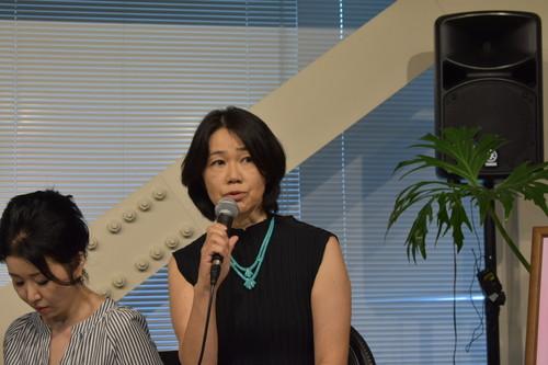 『ぼくのこわれないコンパス』舞台挨拶‗園田京子