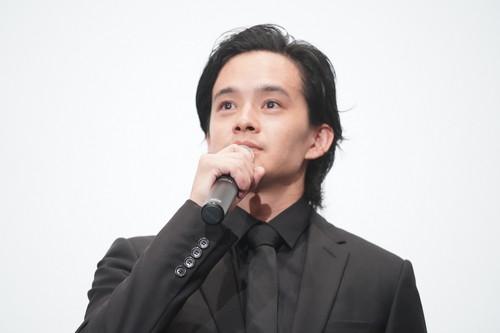 『宮本から君へ』完成披露舞台挨拶 _池松壮亮