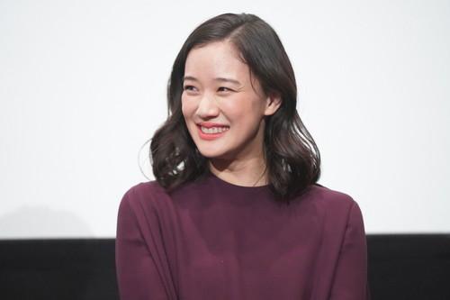 『宮本から君へ』完成披露舞台挨拶 _蒼井優