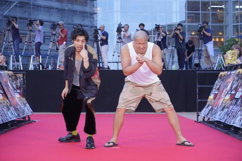 『HiGH&LOW THE WORST』RC山田裕貴、一ノ瀬ワタル