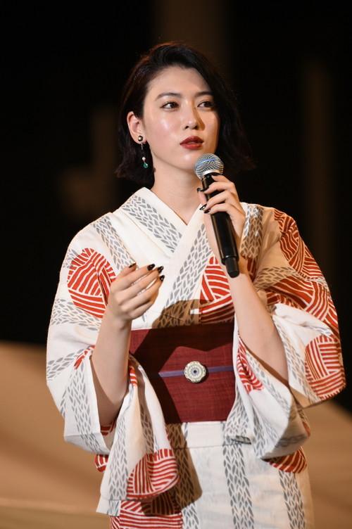 ダンスウィズミー三吉彩花 浴衣