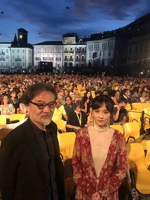 前田敦子・黒沢清監督・『旅のおわり世界のはじまり』ロカルノ国際映画祭