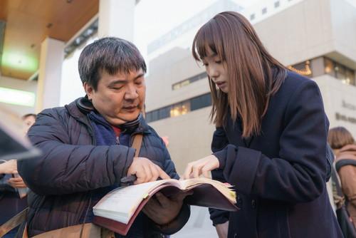 飯豊まりえ 井口昇監督『惡の華』メイキングスチール