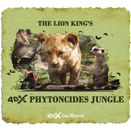 4DX「ライオン・キング」_ジャングル