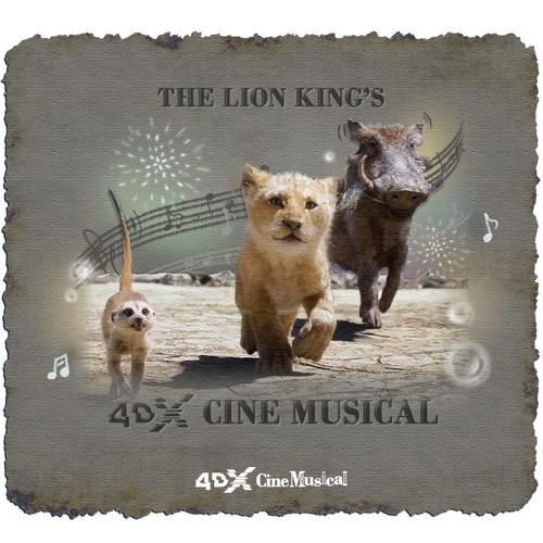 4DX「ライオン・キング」_バブル効果