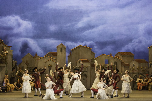 ⑦ドン・キホーテ_DON QUIXOTE. Artists of The Royal Ballet in Don Quixote (c) ROH Johan Persson (2013)