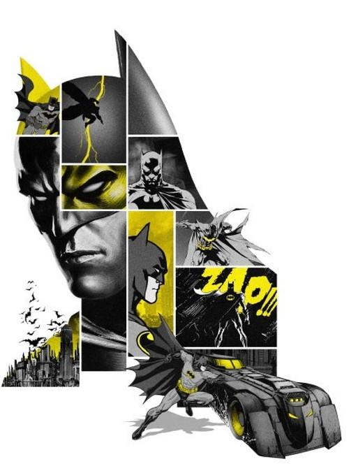 バットマン80周年記念キーアート