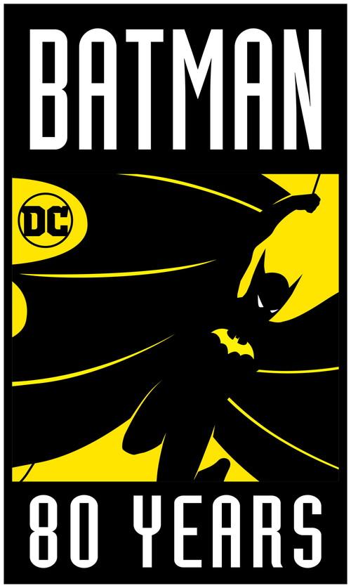 Batman80周年_logo