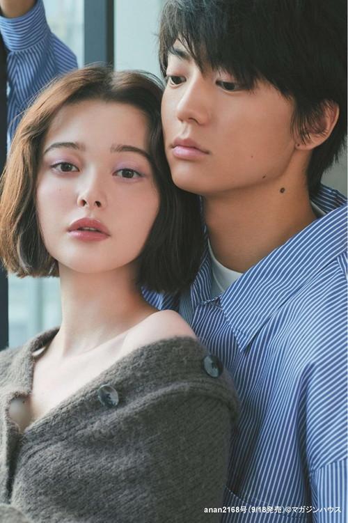 「anan」映画『惡の華』伊藤健太郎&玉城ティナL