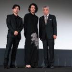 オダギリ ジョー監督、柄本明、村上虹郎『ある船頭の話』ヴェネチア国際映画祭