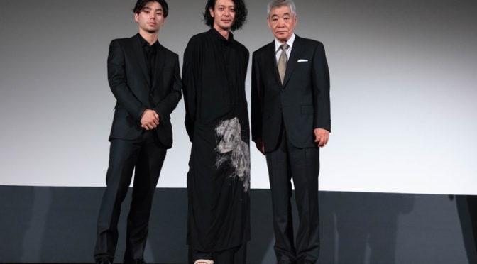 オダギリジョー監督、柄本明、村上虹郎『ある船頭の話』ヴェネチア国際映画祭公式上映・Q&A