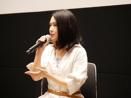 柳明菜監督『いなくなれ、群青』公開直前イベント