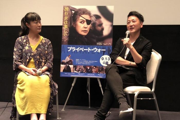 『プライベート・ウォー』安田菜津紀×堀潤登壇トークイベント