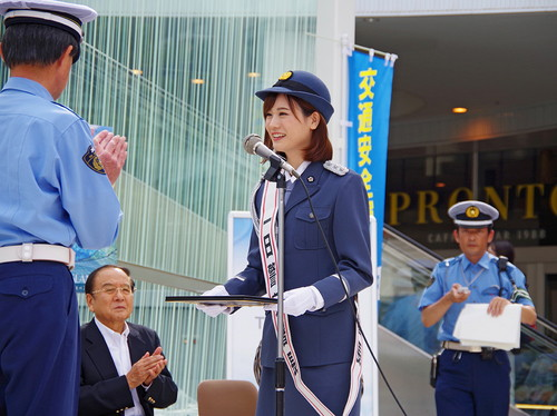『青春ブタ野郎はゆめみる少女の夢を見ない』 瀬戸麻沙美一日警察署長