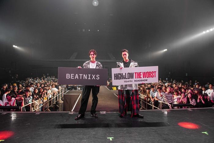 『HiGH&LOW THE WORST』×『BEATNIXS』コラボステージ